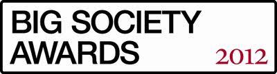 Big Society Awards 2012 logo looks like a street name plate