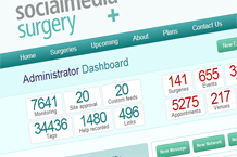 Bespoke systems capture achievements and outcomes and report them in web dashboards
