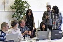 Birmingham Settlement recieving Social reporter training