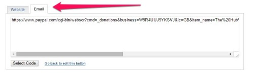 how to get a paypal donate button on facebook