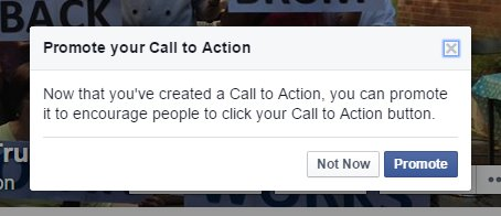 Create donate now button on Facebook pages