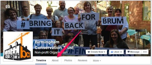 Add Facebook Donate Button
